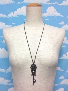 EDEN's Gate Necklace in Antique Gold from Alice and the Pirates - Lolita Desu