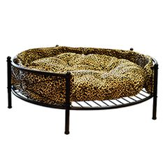 Buy Barkshire Deluxe Wrought Iron Round Dog Bed - 91cm Diameter at Guaranteed Cheapest Prices with Express & Free Delivery available now at PetPlanet.co.uk, the UKs #1 Online Pet Shop.