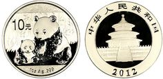 2012 Silver Panda - MintProducts.com - New obverse design on these beautiful coins from China!