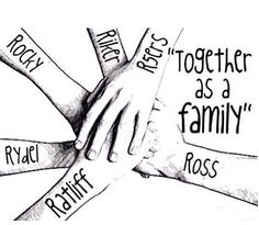 I want to tell all the members of the R5 Family that we are greatest fandom ever, and we have the most amazing idols in the world. They have taught us to always be always be ourselves, to have fun, their music says it all. I want to sum this up and say that the R5 Family loves R5 with all their hearts, because some other fandoms like a member of a band and thwy don't care about the others, but we are different, we are rossome. :)