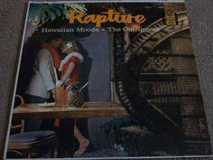 "Outriggers / Rapture - Hawaiian Moods / 12"" Vinyl LP Record / Warner Bros. W 1224 #Outriggers #Music #Album"