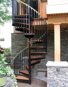 exterior spiral staircase - Google Search