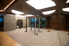 OMNIA BY TECHNOGYM WITH PAVIGYM FUNCTIONAL TRAINING FLOORING