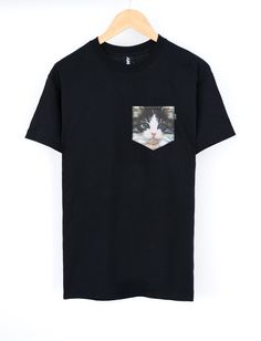 Image of Kitten AND Pocket Tee