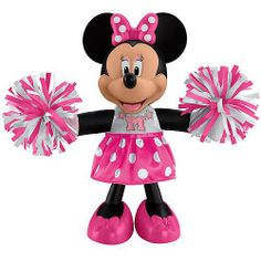 Cheerin' Minnie Mouse Doll #DisneyDozen #DisneyUnwrapped