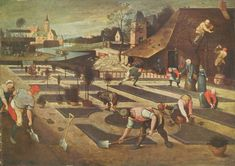 By Abel Grimmer, a South Netherlandish painter