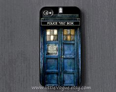 The Tardis Doctor Who iPhone Case iphone cover by LittleVogue, $6.99. Getting this when I get my 5