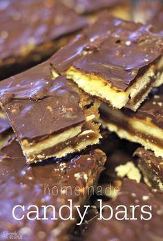 Homemade Candy Bars Recipe