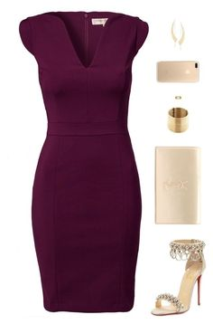 """Sin título #4565"" by mdmsb ❤ liked on Polyvore featuring French Connection, Christian Louboutin, Yves Saint Laurent, Lana and Gucci"