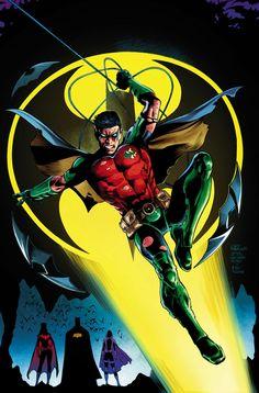 Robin (Tim Drake) By Eddy Barrows