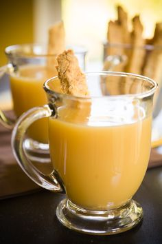 How To Drink Apple Pie! just make pie crust biscotti via @cupcakeproject