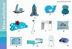 Soluzioni pink e blue http://ilpampano-designbimbi.blogspot.it/