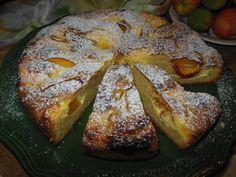 gâteau à la nectarine