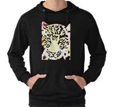 'Neon leopard' by Wolfteamshop Neon, Hoodies, Sweaters, Stuff To Buy, Shirts, Shopping, Fashion, Moda, Sweatshirts