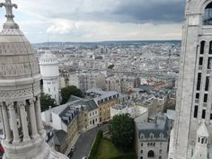 For a great view Lynn Perkins says: Climb the narrow staircase of the Sacre Couer tower for remarkable vistas #sfbinparis