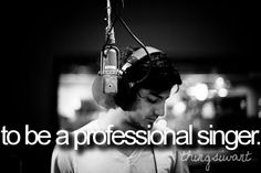 *a professional CHRISTIAN singer (;