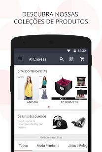 AliExpress Shopping App: miniatura da captura de tela