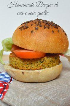 Bread and Butter.....: Homemade burger di ceci e soia gialla!!!