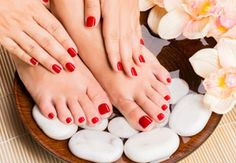 Hand and foot treatments available at Top1One.