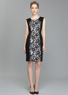 Punto Milano Lace Front Dress from Lafayette 148