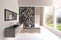 We provide all kind of Laser and CNC cutting work on these product Mdf metal steel Stainless Acrylic tree Aluminium Corian Brass wood stone … – ELEVATION Office Room Dividers, Hanging Room Dividers, Sliding Room Dividers, Living Room Partition Design, Room Partition Designs, Interior Exterior, Modern Interior, Decorative Metal Screen, Privacy Screen Outdoor