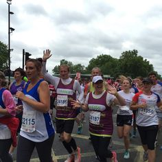 Heidi and James ran the British 10k London Run for Teens Unite yesterday, along with 72 more Teens Unite runners!  Find your challenge at http://teensunitefightingcancer.org/what-can-you-do/challenges/