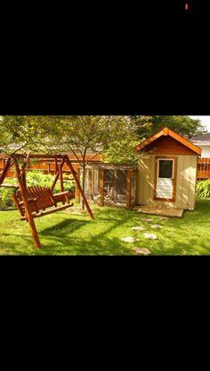 Chicken Coop from photo contest at The Chicken Chick on Facebook! Chicken Chick, Chicken Coops, Mini Farm, Photo Contest, Bees, Garden Design, Gardens, Design Ideas, Craft Ideas