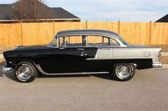 55 Chevrolet : Bel Air 4 door sedan