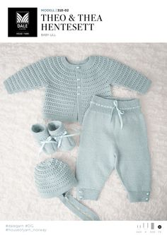 Bilderesultater for strikk til baby Baby Outfits, Kids Outfits, Knitting For Kids, Baby Knitting Patterns, Baby Barn, Knitted Baby Clothes, Kids Clothes Boys, Baby Girl Crochet, Baby Princess