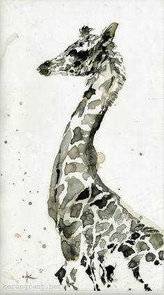Animal Ink Washes | Keron Grant