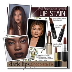 Fall Statement Lipstick : The Chocolate Fix by vikkih7
