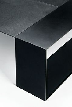 Alex Rasmussen for Holly Hunt   Bison Cocktail Table (detail)