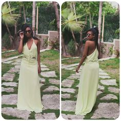 In her latest post, beautiful #fashionblogger @riamichelle featured recently #JarloLondon Siobhan maxi #dress in lemon <3 We think she looks so dreamy in our dress, especially the lemon colour enhances her beauty so well! Loving the quirky #styling! Make sure you check out the blog post! #fashioninspirations