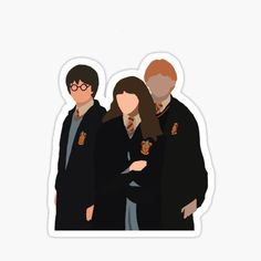 Harry Potter Fan Art, Capa Harry Potter, Harry Potter Cartoon, Harry Potter Stickers, Harry Potter Drawings, Harry Potter Tumblr, Harry Potter Memes, Preppy Stickers, Cute Laptop Stickers