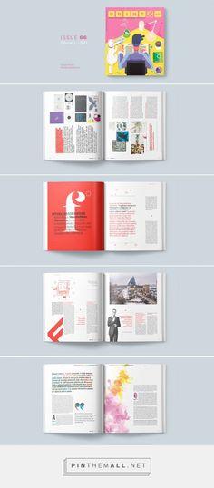 Print Lovers Magazine — ISSUE 66 on Behance - created via https://pinthemall.net