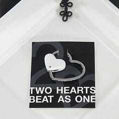 Metal Heart Key Holder