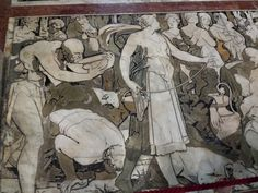SIENA, THE FLOOR OF THE DUOMO