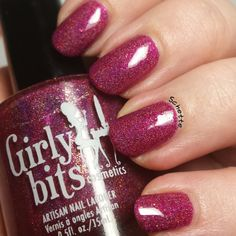 Girly Bits polish Too Hot For Pants http://www.girlybitscosmetics.com/too-hot-for-pants/ $12.00 CAD #nailpolish