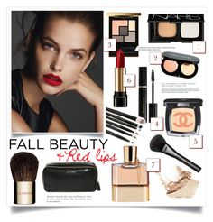 """Fall beauty routine"" by bogira ❤ liked on Polyvore featuring beauty, Lancôme, Clarins, Elizabeth Arden, Chanel, Bobbi Brown Cosmetics, NARS Cosmetics, Gucci, Chloé and Anya Hindmarch"