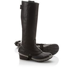 SOREL | Women's Slimpack Riding™ Tall Boot / perfect boot for people who live where it rains/snows a ton.