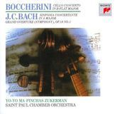 Boccherini: Cello Concerto in B flat major; J.C. Bach: Sinfonia Concertante in A major; Grand Overture (Symphony) Op. 18 No. 1 [CD], 19663111