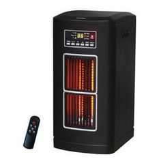 Comfort Glow Compact Tower Infrared Quartz Comfort Furnace