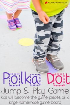 Polka Dot Jump and Play Game for Kids #surprize #ad