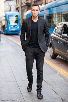 #dark #suit