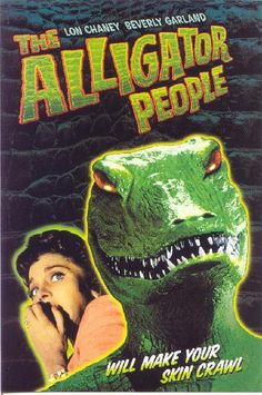 The Alligator People sprinkle ants down the back of your shirt when you aren't looking...that's why they make your skin crawl!