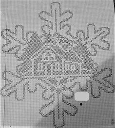 super Ideas for crochet christmas bells pattern cross stitch Crochet Christmas Trees, Christmas Crochet Patterns, Christmas Snowflakes, Christmas Bells, Christmas Cross, Crochet Snowflake Pattern, Pillowcase Pattern, Filet Crochet, Thread Crochet