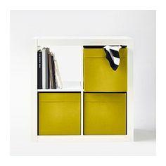 DRÖNA Box - yellow - IKEA