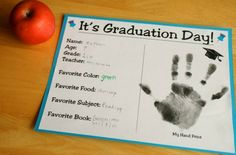 for Parker's preschool graduation - Click image to find more Kids Pinterest pins