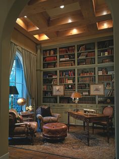 End of room part 2:2 looking something like this with green / dark brown leather and wood furniture just inspirational idea