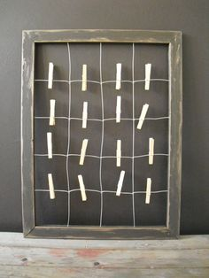 Wire Note and Greeting Card Display by HardwareHomeware on Etsy, $38.68
